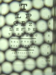 immagine ripresa nelle stesse condizioni di quella precedente anteponendo all' obiettivo l' occhiale SenzaLenti eyeMoving™